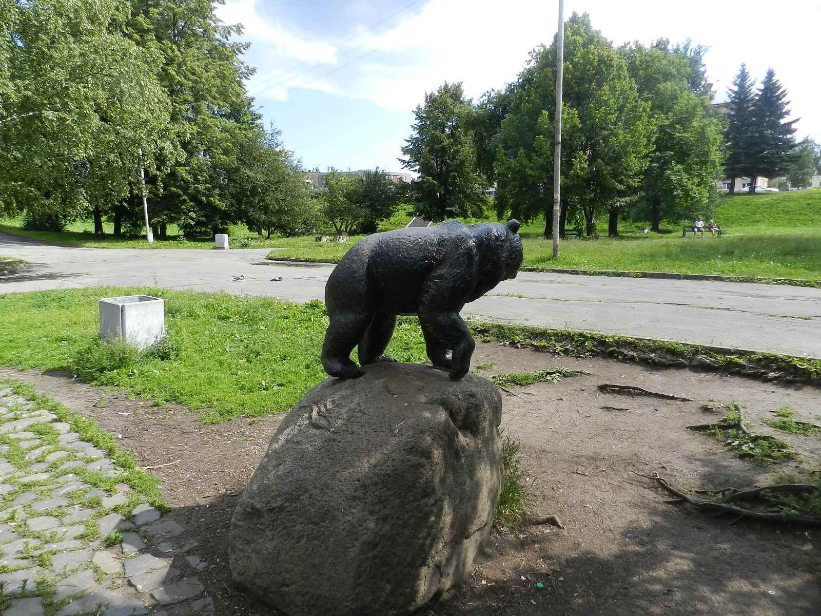 воскресное медведь на улице в петрозаводске фото дочери